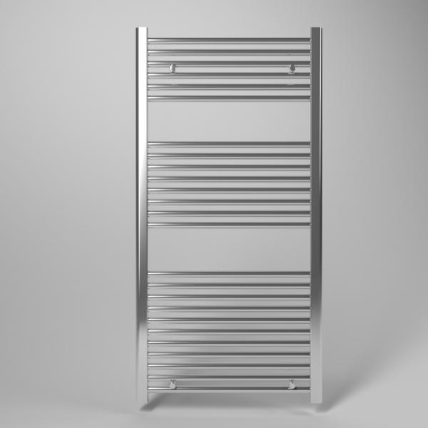 Scaldasalviette radiatore termoarredo cromato da bagno a tubi dritti
