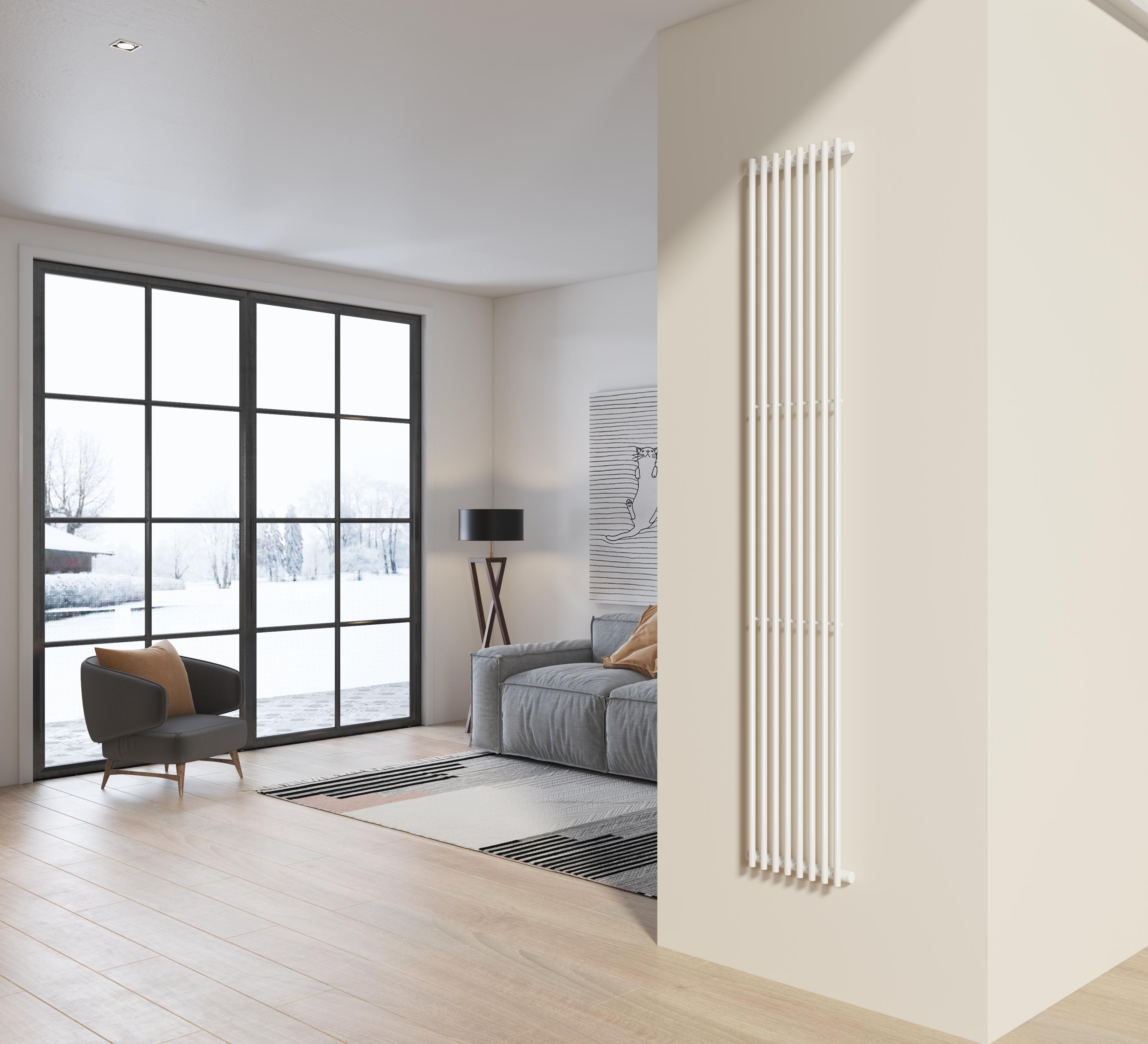 radiatore arredo 200x34 cm