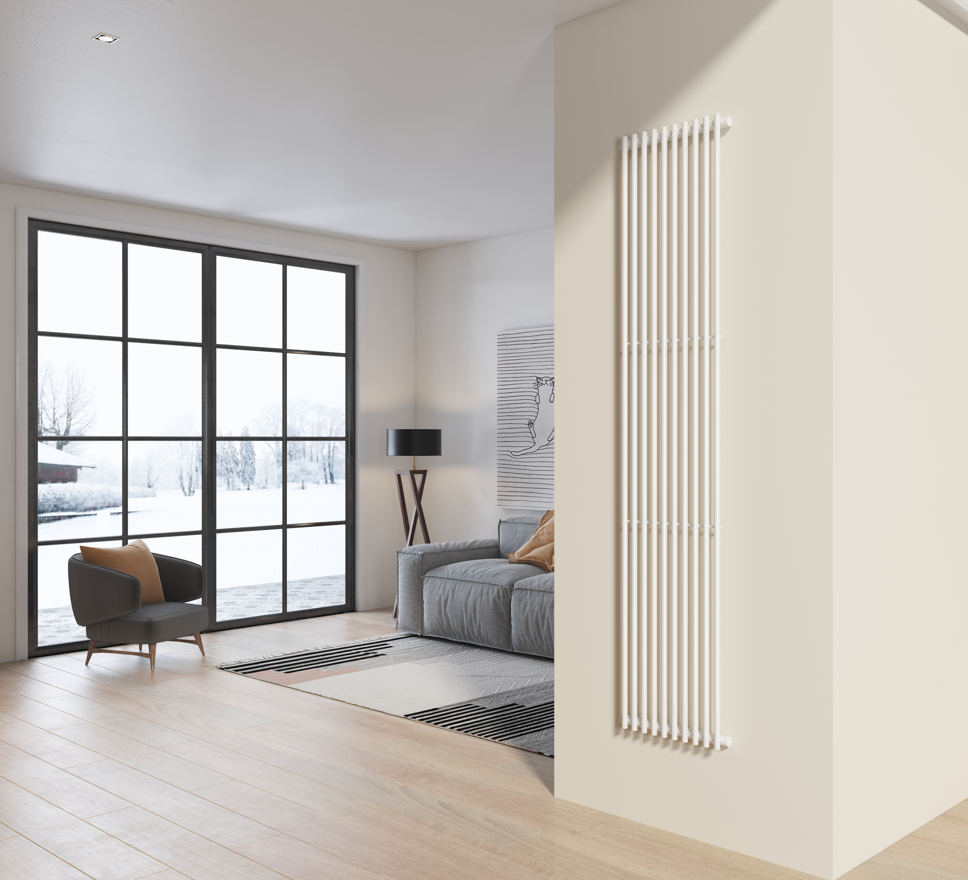 radiatore design living 200x42