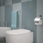 Scopino WC d'appoggio con ciuffo in setole serie Maine Gedy 7833