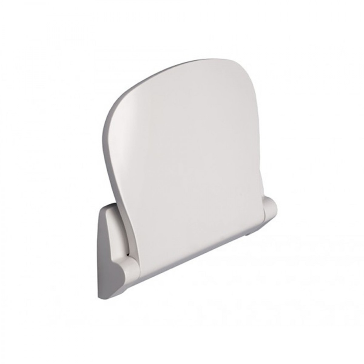 Sedile per doccia ribaltabile serie Sound Bianco