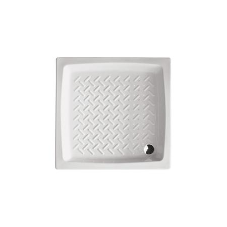 Piatto doccia in ceramica Hera Althea h.11 cm 90X90