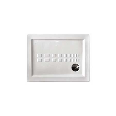 Piatto doccia in ceramica Ito Althea h. 5.5 cm 100x70