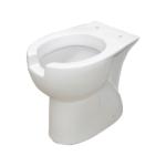 Vaso wc disabili con apertura frontale altezza 47 cm.