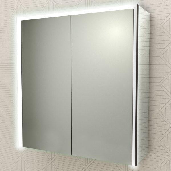 specchio due ante badenhaus cornice led 84252