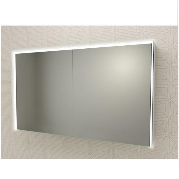 specchio due ante luce led badenhaus 84254