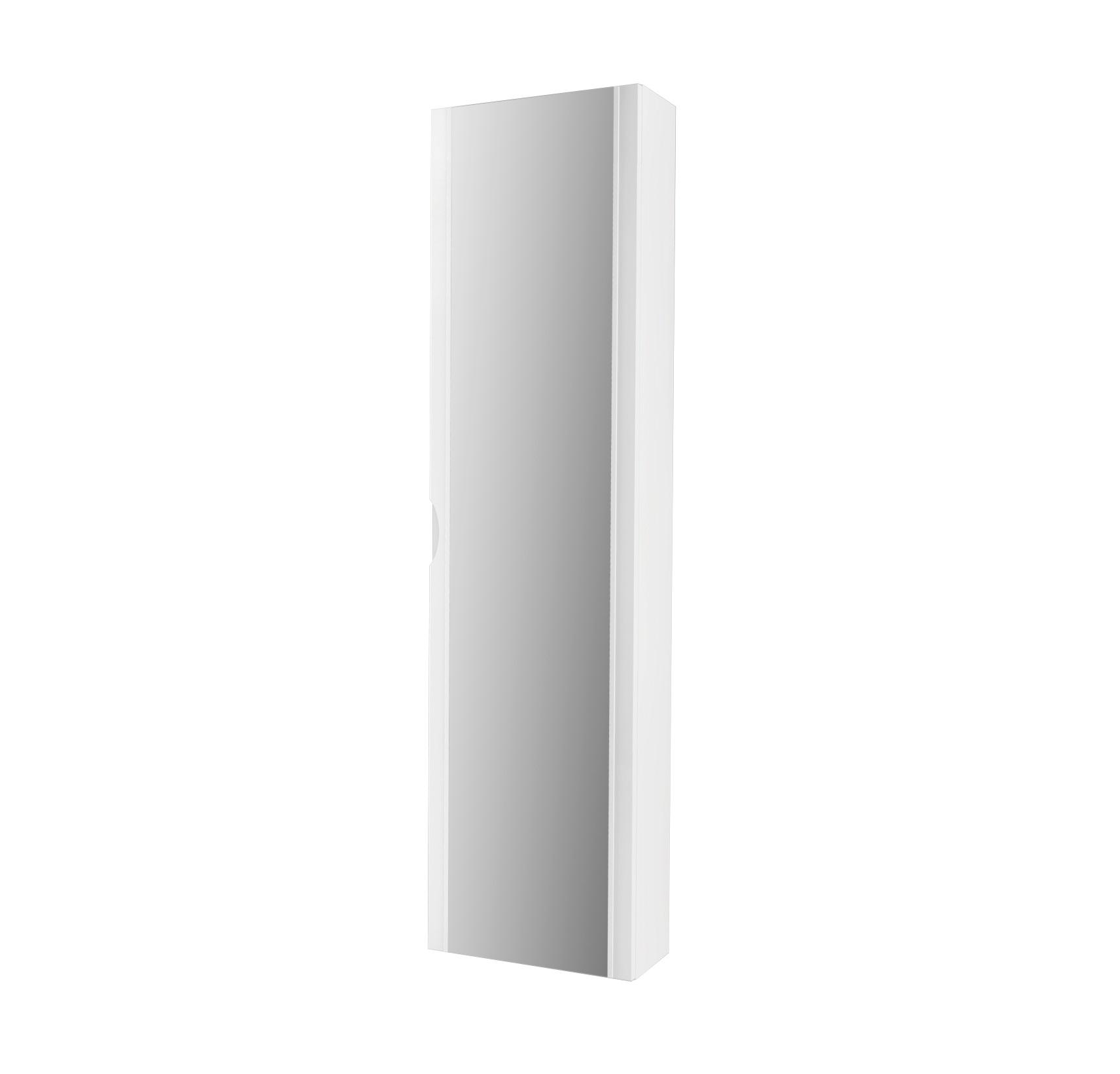44676 bianco lucido colonna specchio badenhaus